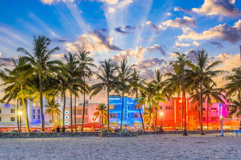Ocean Drive | Editorial Credit: Sean Pavone | Shutterstock