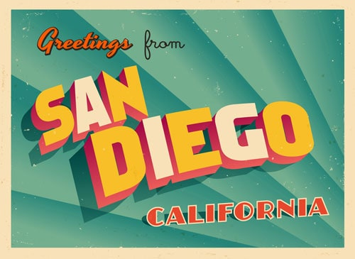 San Diego Postcard | Photo Source: Thiscustomlife.com