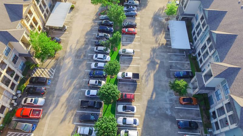 Find covered parking