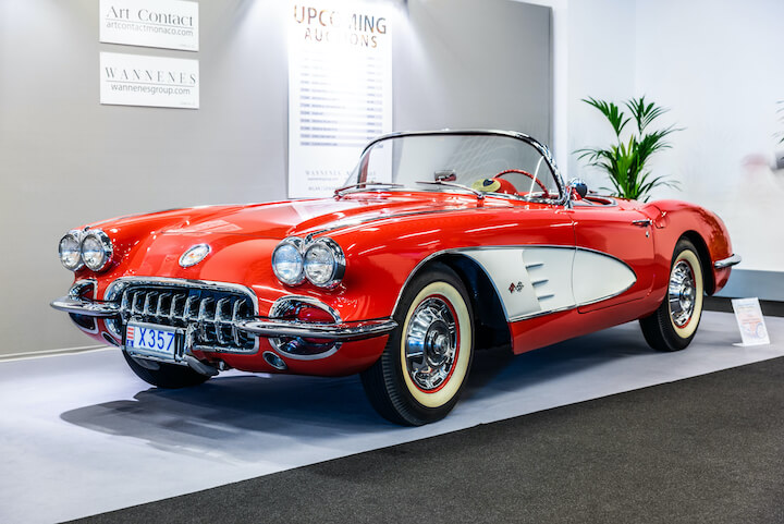 Original Corvette | Editorial credit: Kaukola Photography / Shutterstock.com