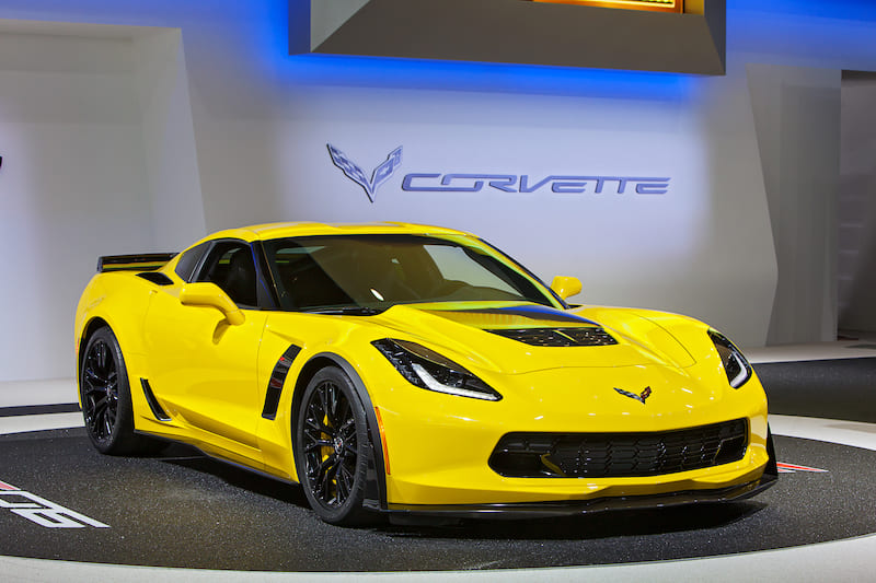Seventh generation Corvette | Editorial credit: Darren Brode / Shutterstock.com