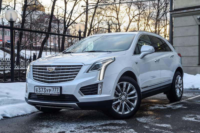 2017 Cadillac XT5 | Editorial credit: Yauhen_D / Shutterstock.com