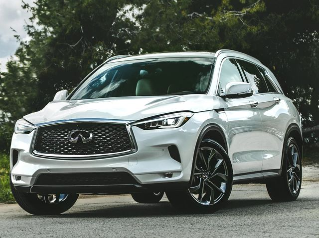 2020 Infiniti QX30 | Photo Source: Car And Driver