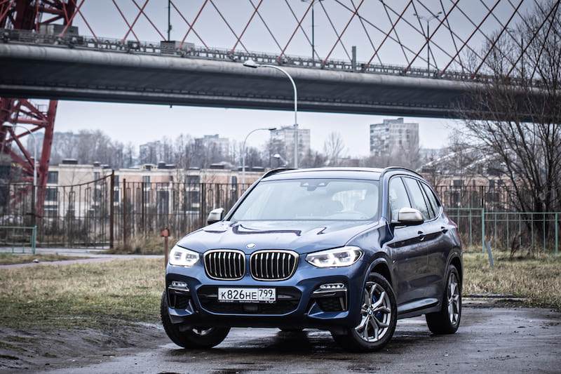 2020 BMW X3 | Editorial Credit: Dmitry Dven | Shutterstock