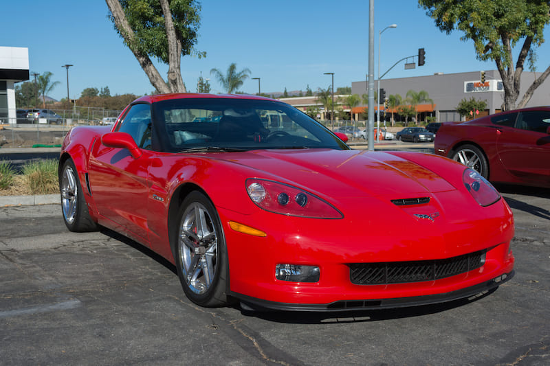 Chevy Corvette | Editorial credit: betto rodrigues / Shutterstock.com