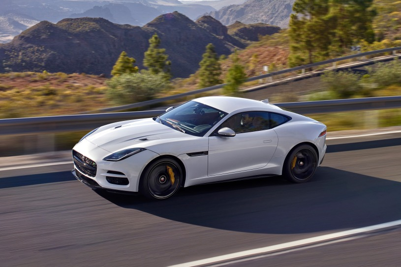 2018 Jaguar F-type Coupe R | Photo Source: Edmunds.com
