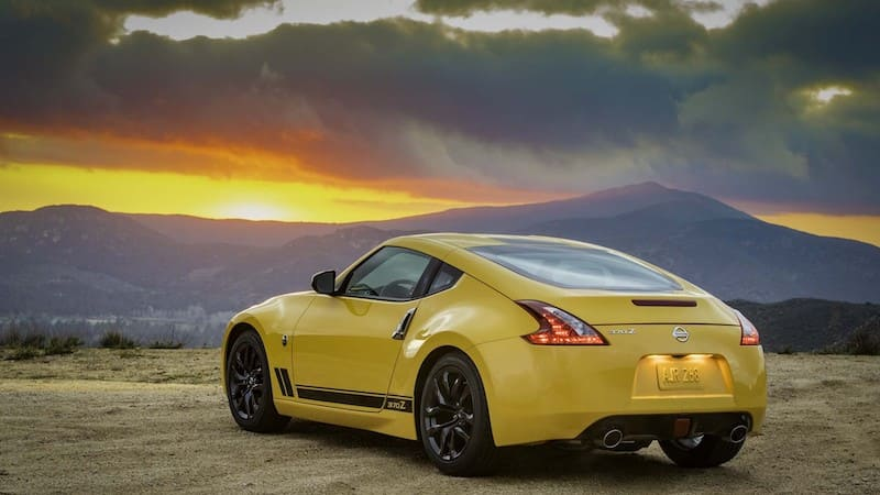 2018 Nissan 370Z | Photo Source: Motor Authority