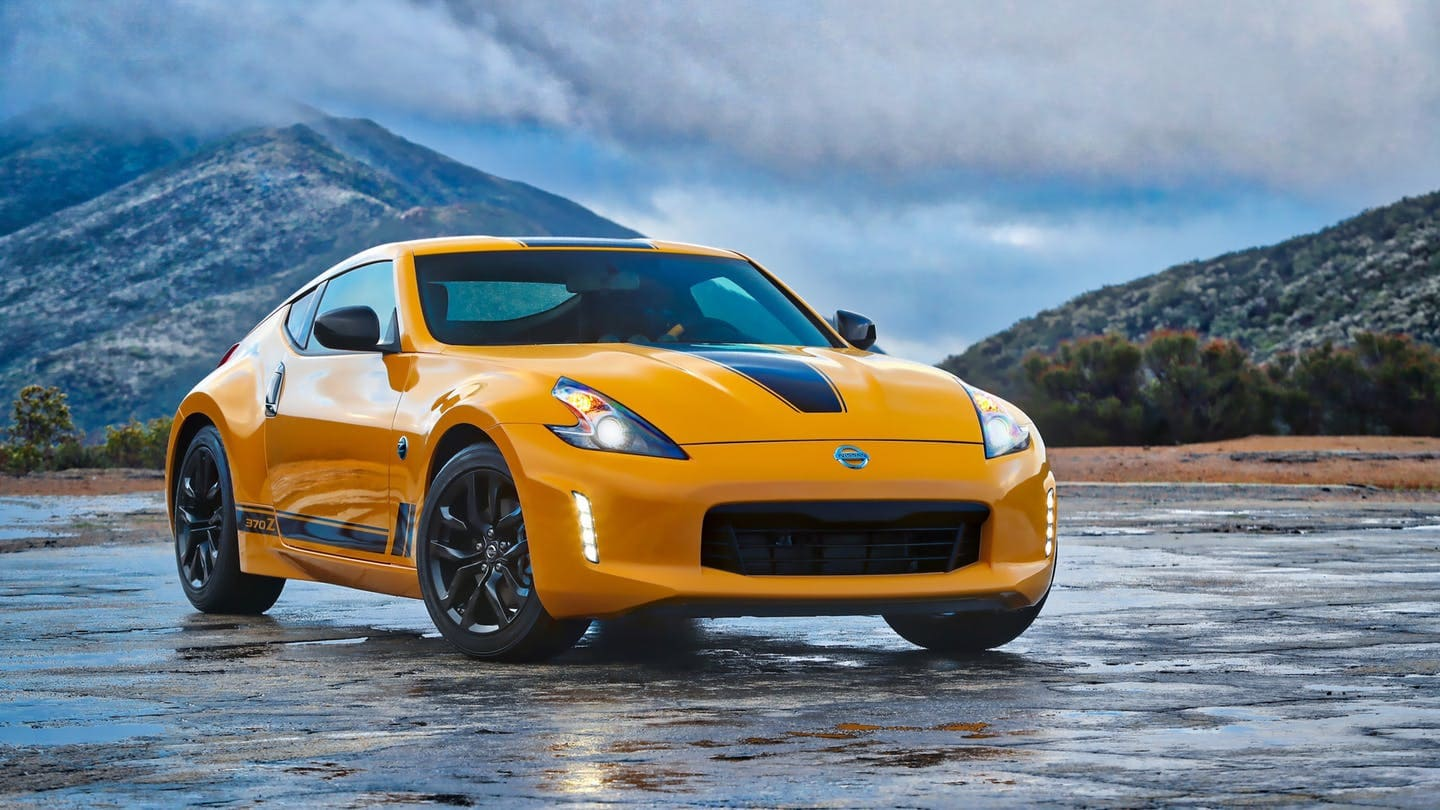 2018 Nissan 370Z Heritage Edition | Photo source: The Drive