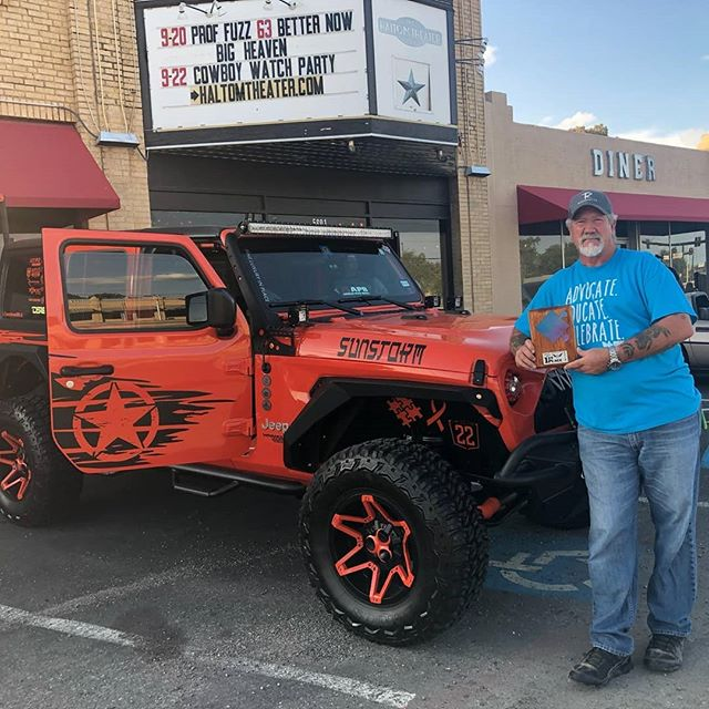 Terry Payne with the Jeep Sunstorm