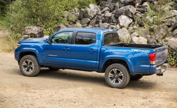 2018 Toyota Tacoma TRD Sport | Photo Source: Gadgetking