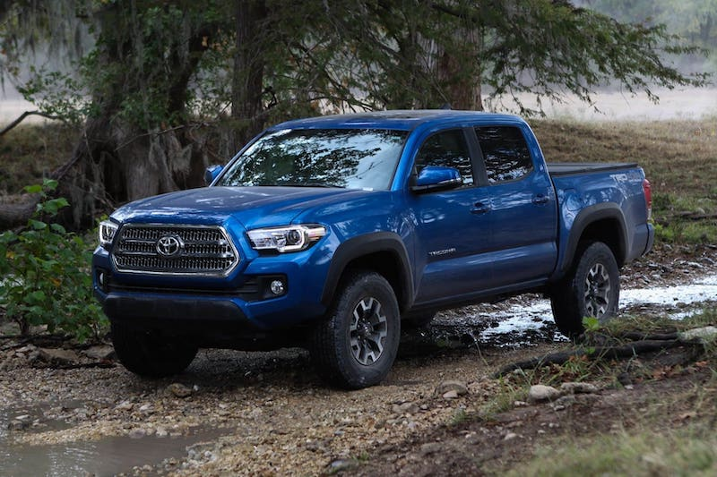 2018 Toyota Tacoma TRD Sport | Photo Source: Forbes