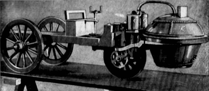 Nicholas Cugnots Dampfwagen 1769 - Wikipedia