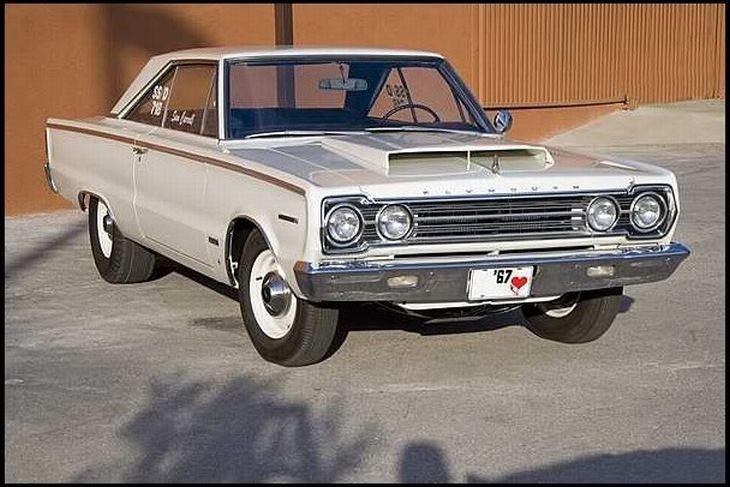 Best classic cars: 1967 Plymouth GTX R023