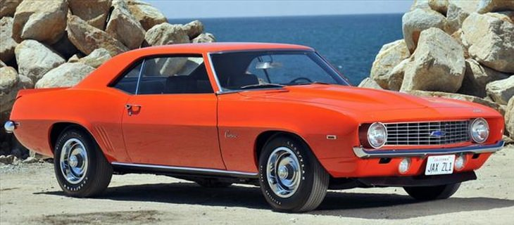 Classic cars we love: 1969 Chevrolet Camaro ZL-1