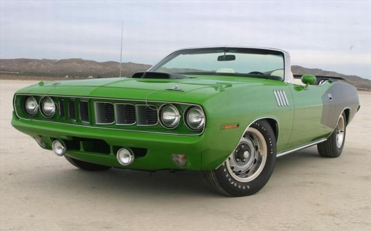 Best classic cars: 1970-71 Plymouth Hemi Cuda Convertible