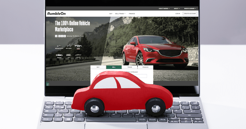 Sell a car the easy way with RumbleOn